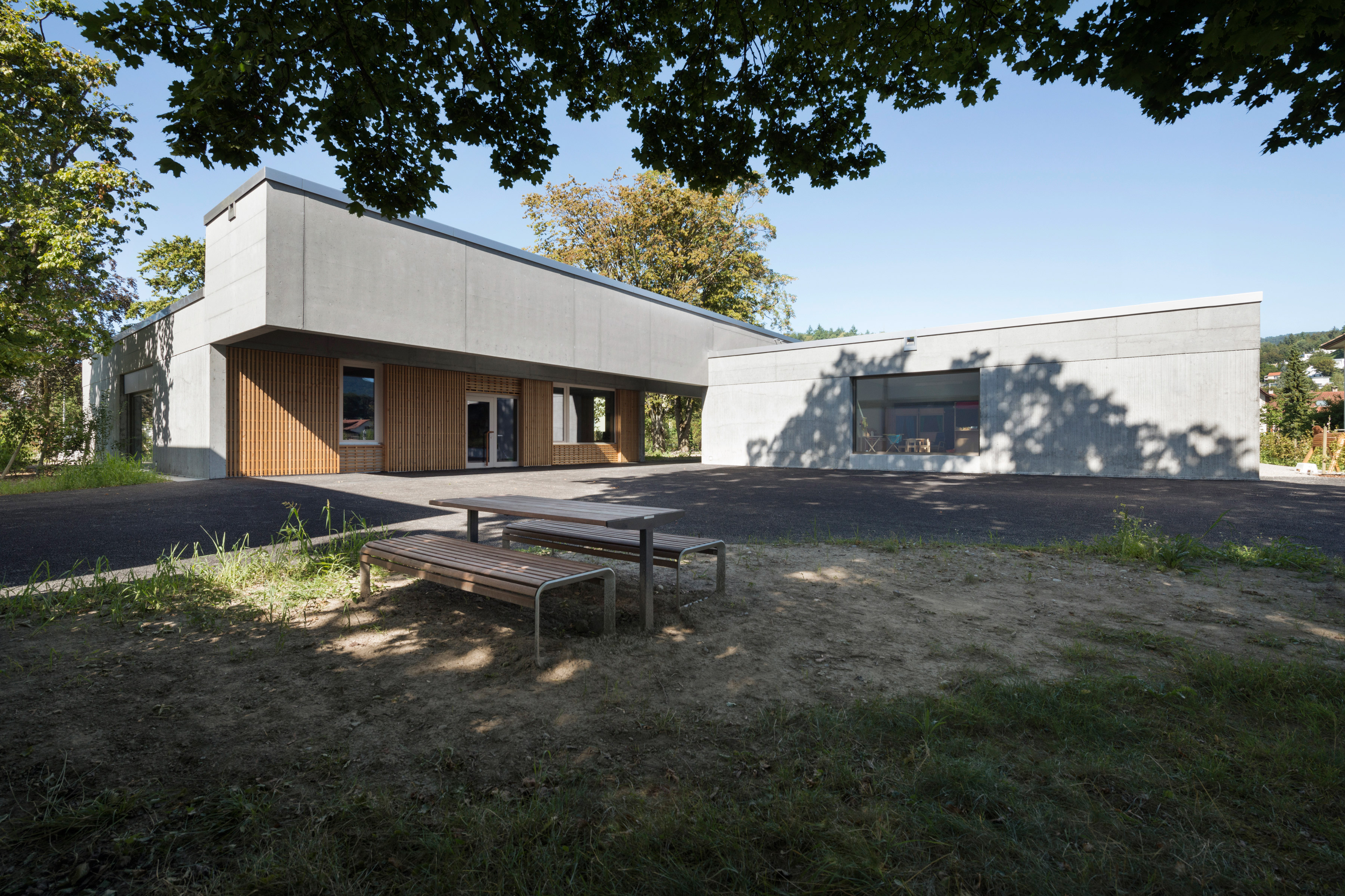 Architecture Photo about Kindergarten Aare Nord Aarau